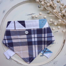 Load image into Gallery viewer, Fletching Tartan // Belle Reversible Bandana