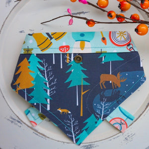 Moonlight Camping // Belle Reversible Bandana