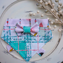 Load image into Gallery viewer, The Boho To My Plaid // Troy Bow Tie & Belle Bandana Duo