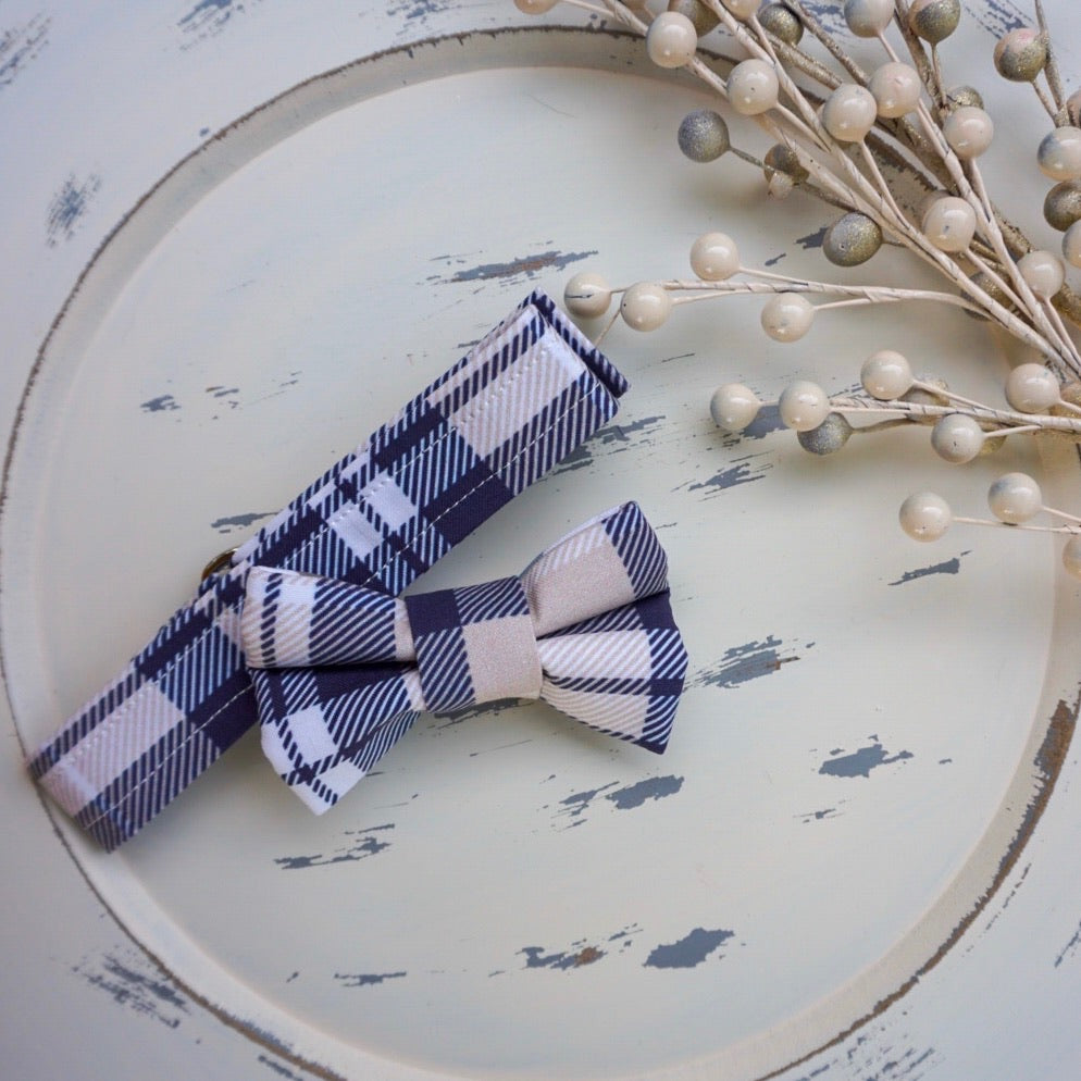 Fletching Tartan // Troy Reversible Bow Tie