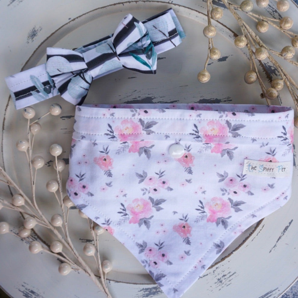Secret Garden // Troy Bow Tie & Belle Bandana Duo