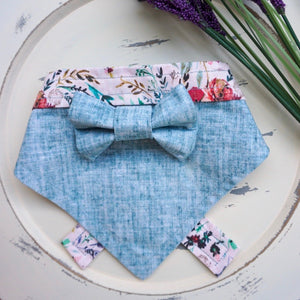 Scandinavian Dream // Troy Bow Tie & Belle Bandana Duo