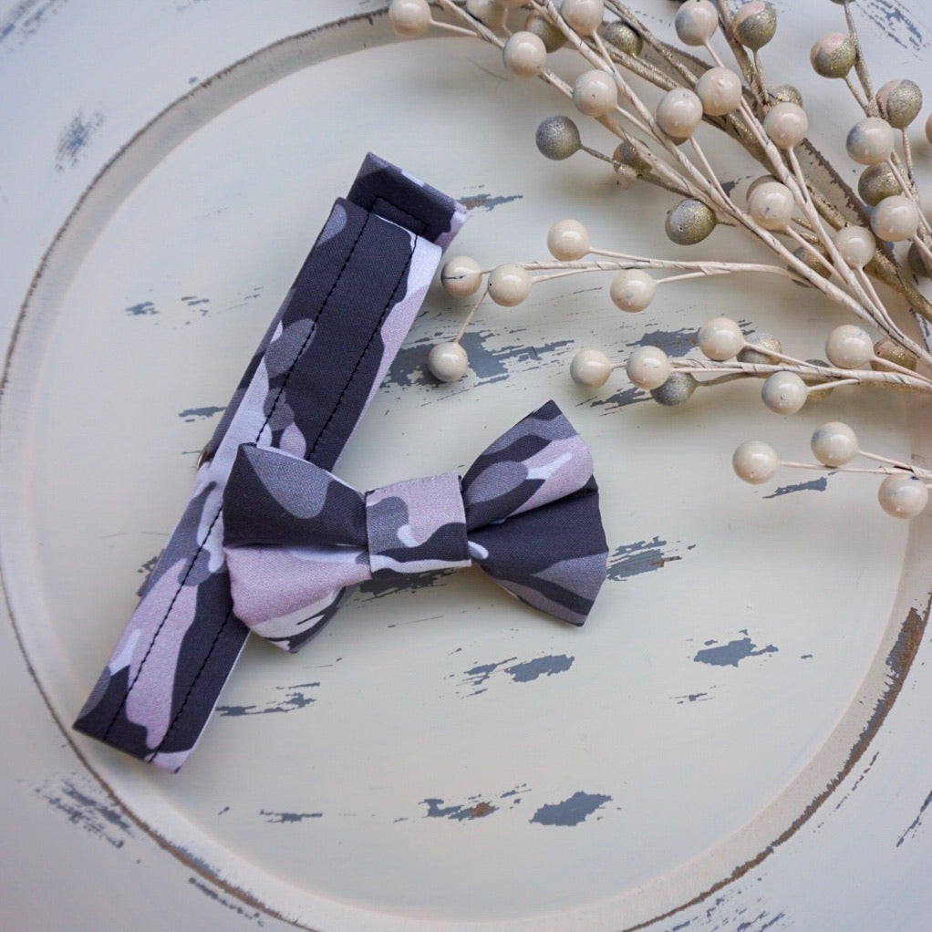 Paws to the Rescue // Troy Reversible Bow Tie