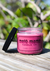 Cherry Coconut 12oz Scented Soy Candle