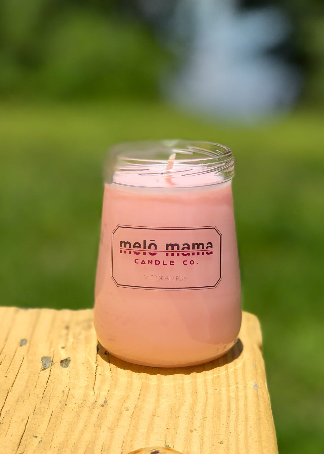 Victorian Rose 4.5oz Scented Soy Candle