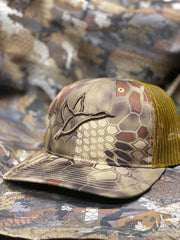 Richardson 112 Khaki and Black Duck Hunting Hat
