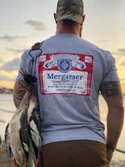 Merganser Label Gray Tee