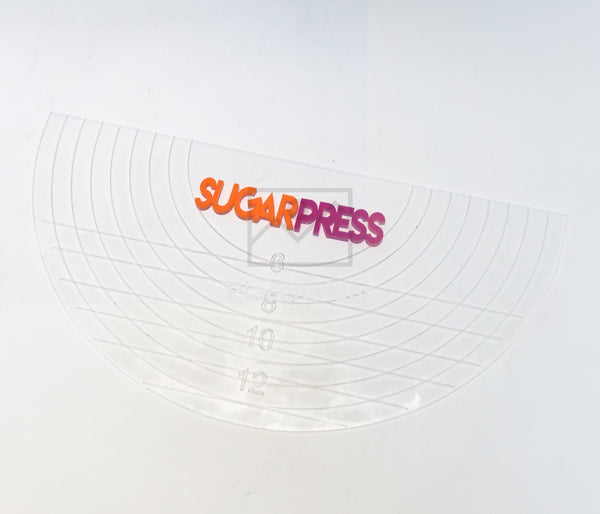 Sugar Press Half Circle Board