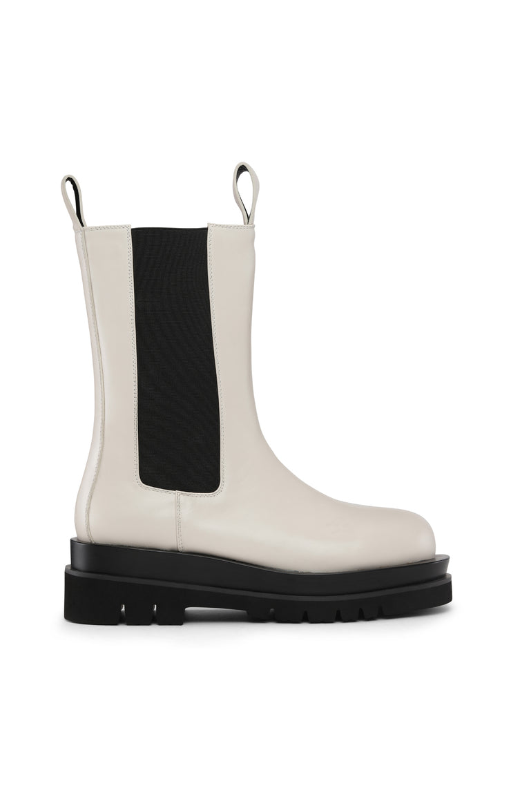 KENDRA BOOTS - WHITE
