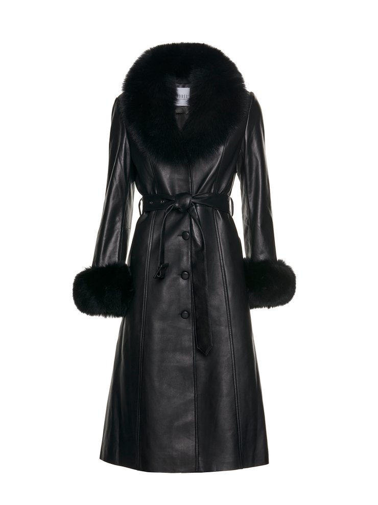 CLAIRE COAT - BLACK