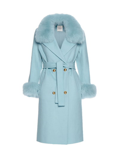 MADELINE COAT - LIGHT BLUE