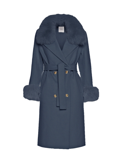 MADELINE COAT - DARK BLUE