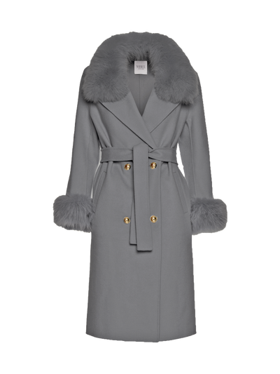 MADELINE COAT - GREY