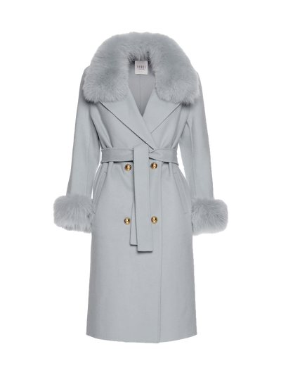 MADELINE COAT - LIGHT GREY