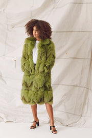 AUDREY COAT - GREEN