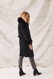 MADELINE COAT - BLACK