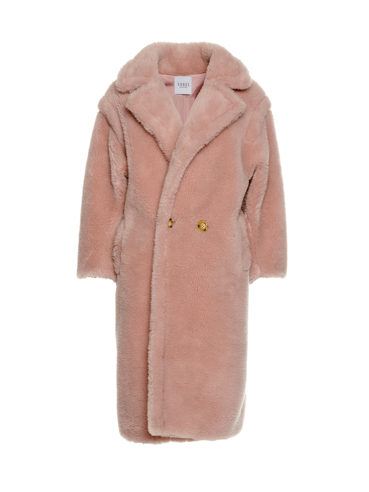 TEDDY COAT - PINK
