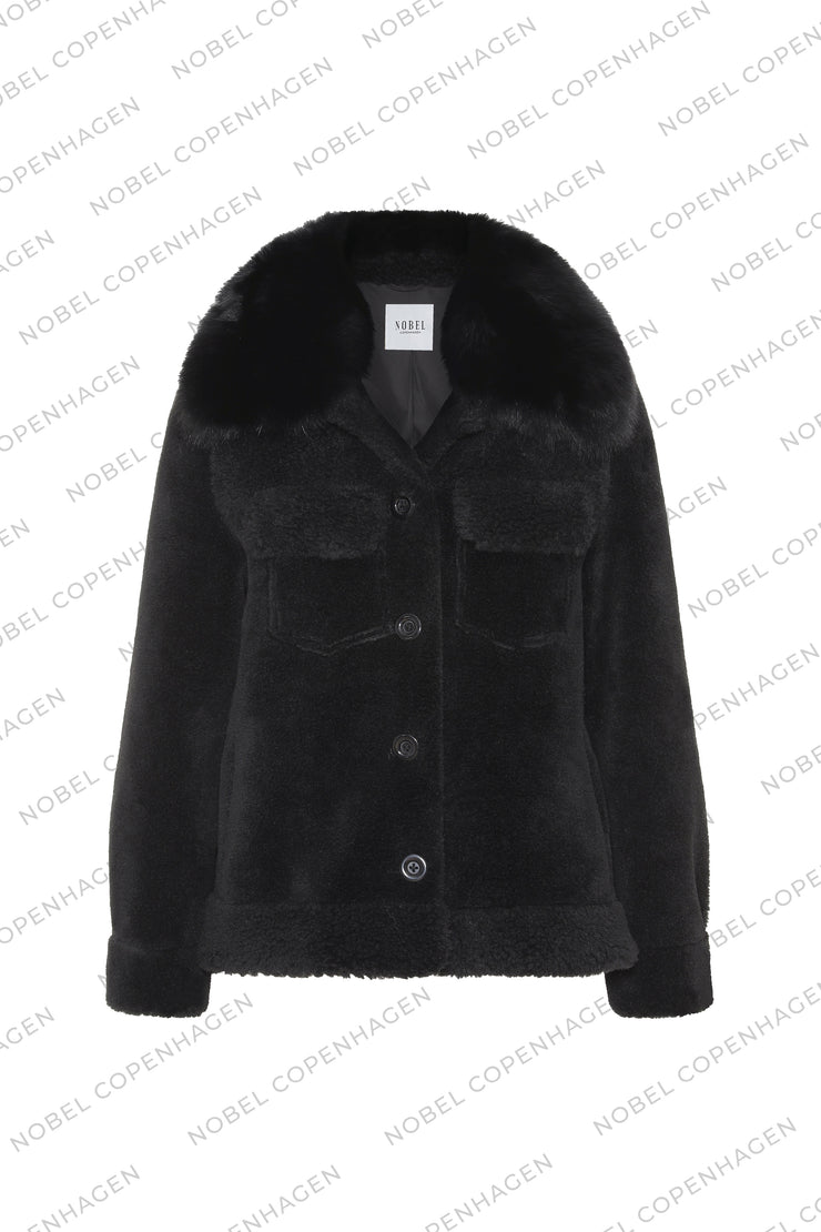 SAMPLE - EMMA JACKET - BLACK