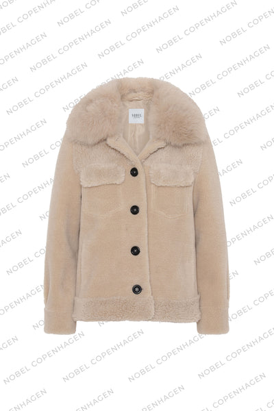 SAMPLE - EMMA JACKET - BEIGE