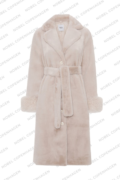 SAMPLE - MAYA COAT - BEIGE