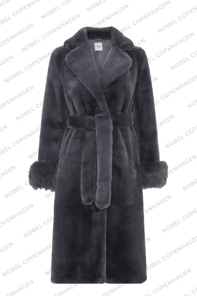 SAMPLE - MAYA COAT - GREY