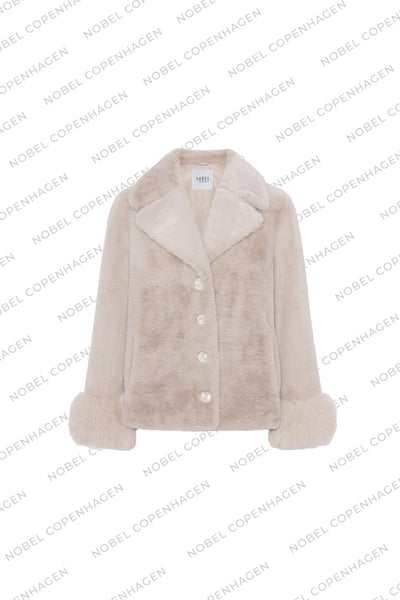 SAMPLE - MAYA JACKET - BEIGE