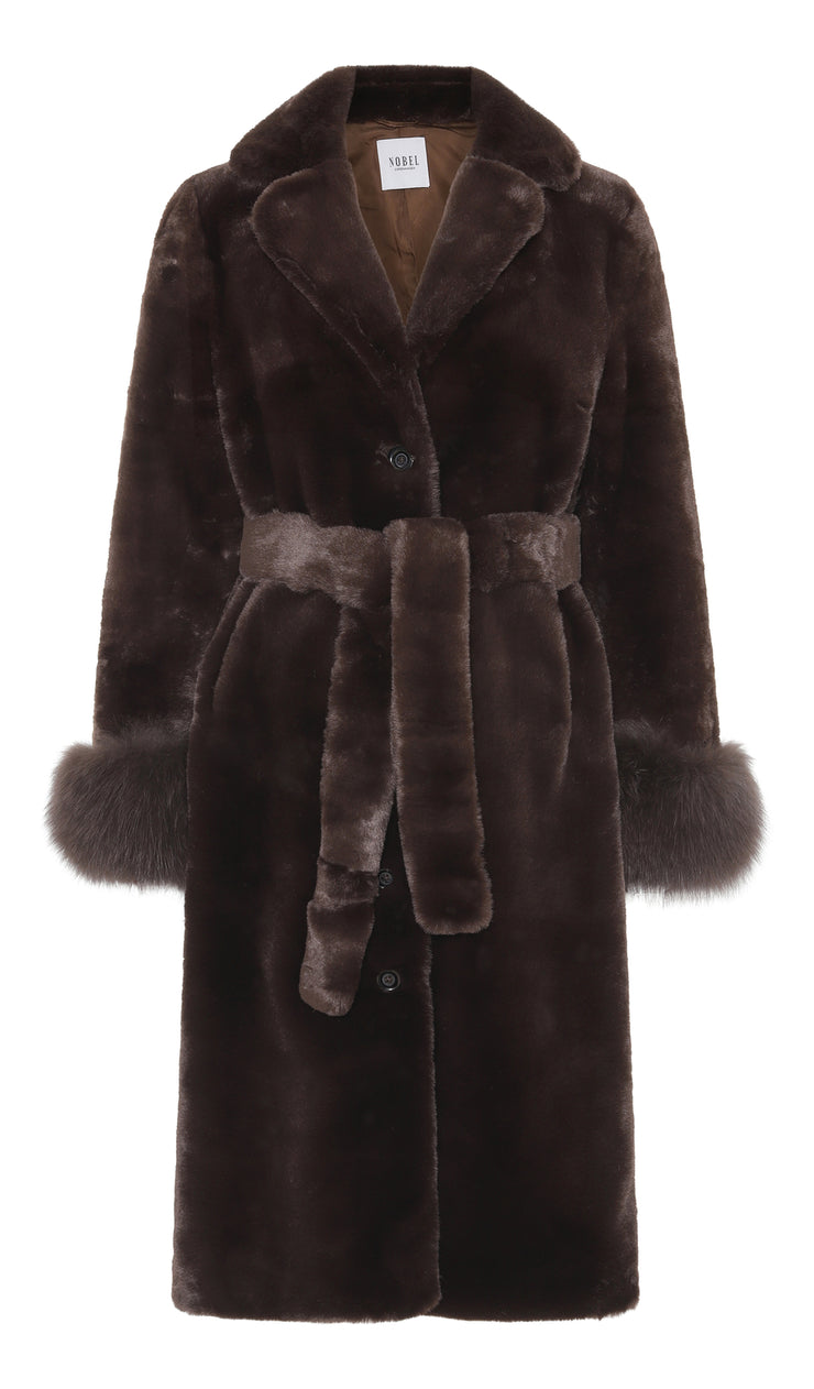 MAYA COAT - BROWN