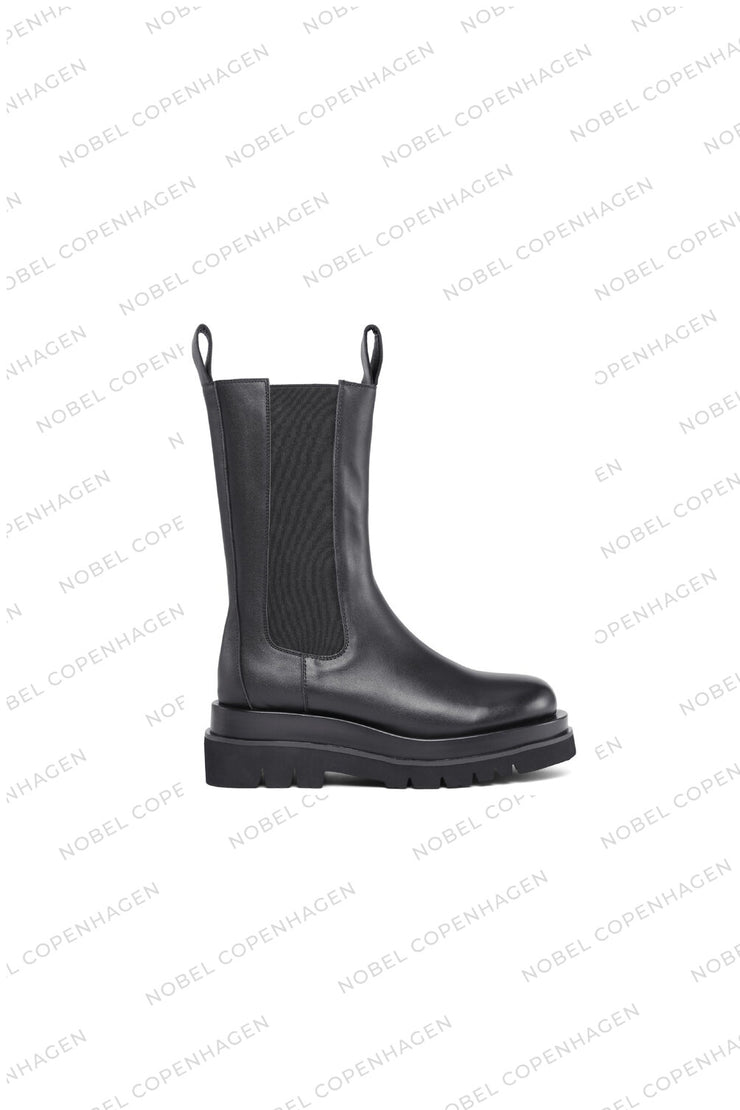 SAMPLE - KENDRA BOOTS - BLACK