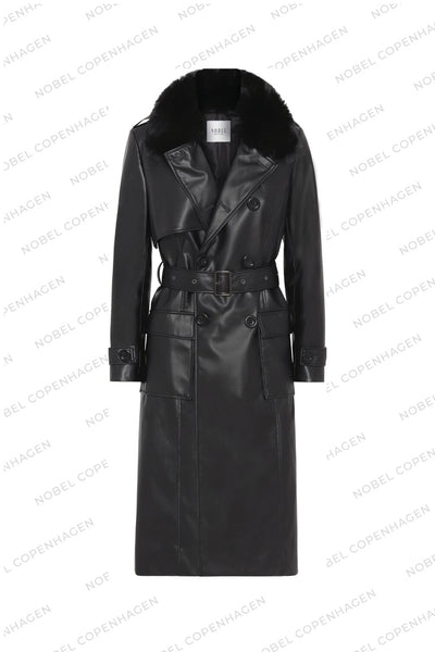 SAMPLE - MILA COAT - BLACK