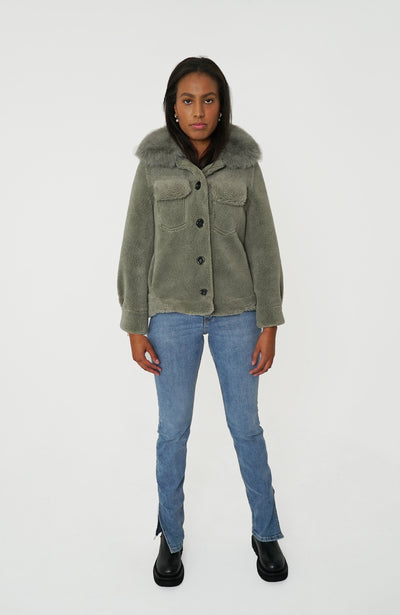 EMMA JACKET - GREEN