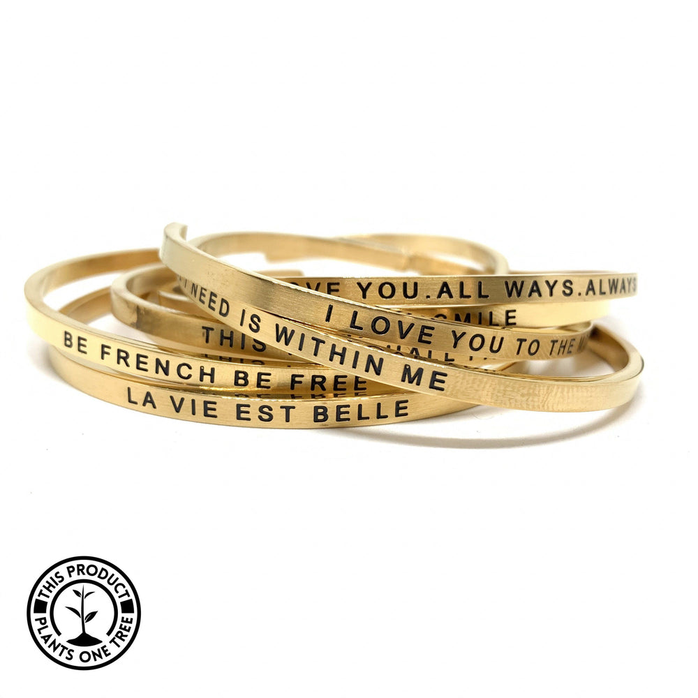 Bracelets - New Matt Gold