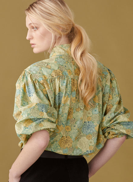 Evergreen Blouse