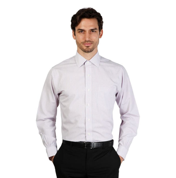 Brooks Brothers - 100040383 - violet / 16H - Clothing Shirts