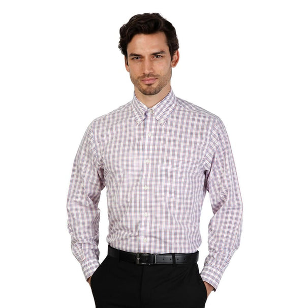 Brooks Brothers - 100040433 - red / 16H - Clothing Shirts