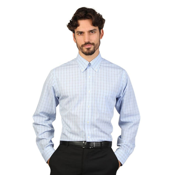 Brooks Brothers - 100040440 - blue / 16H - Clothing Shirts