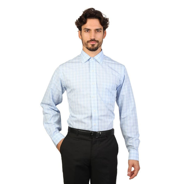 Brooks Brothers - 100040444 - blue / 16H - Clothing Shirts