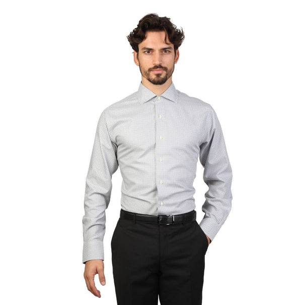 Brooks Brothers - 100040480 - grey / 16H - Clothing Shirts