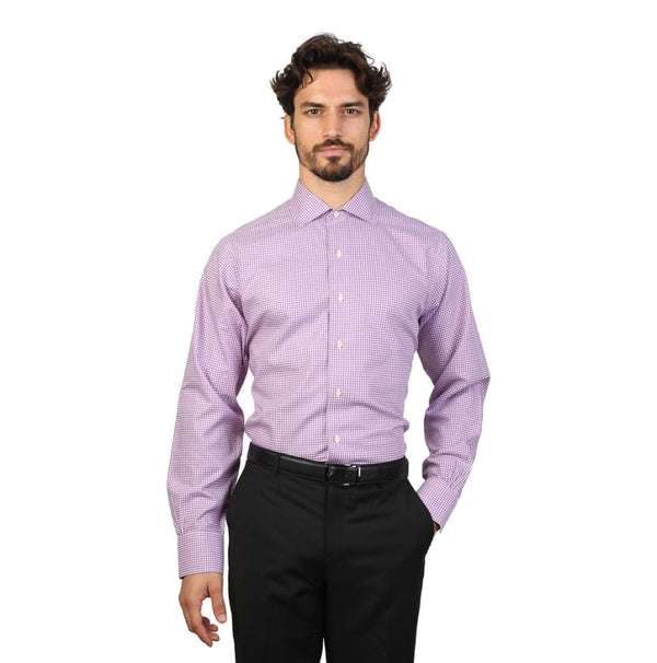 Brooks Brothers - 100040481 - violet / 16H - Clothing Shirts
