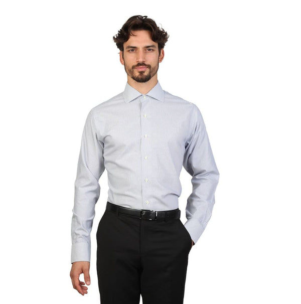 Brooks Brothers - 100040491 - grey / 16H - Clothing Shirts