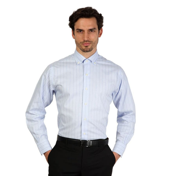Brooks Brothers - 100040503 - blue / 16H - Clothing Shirts