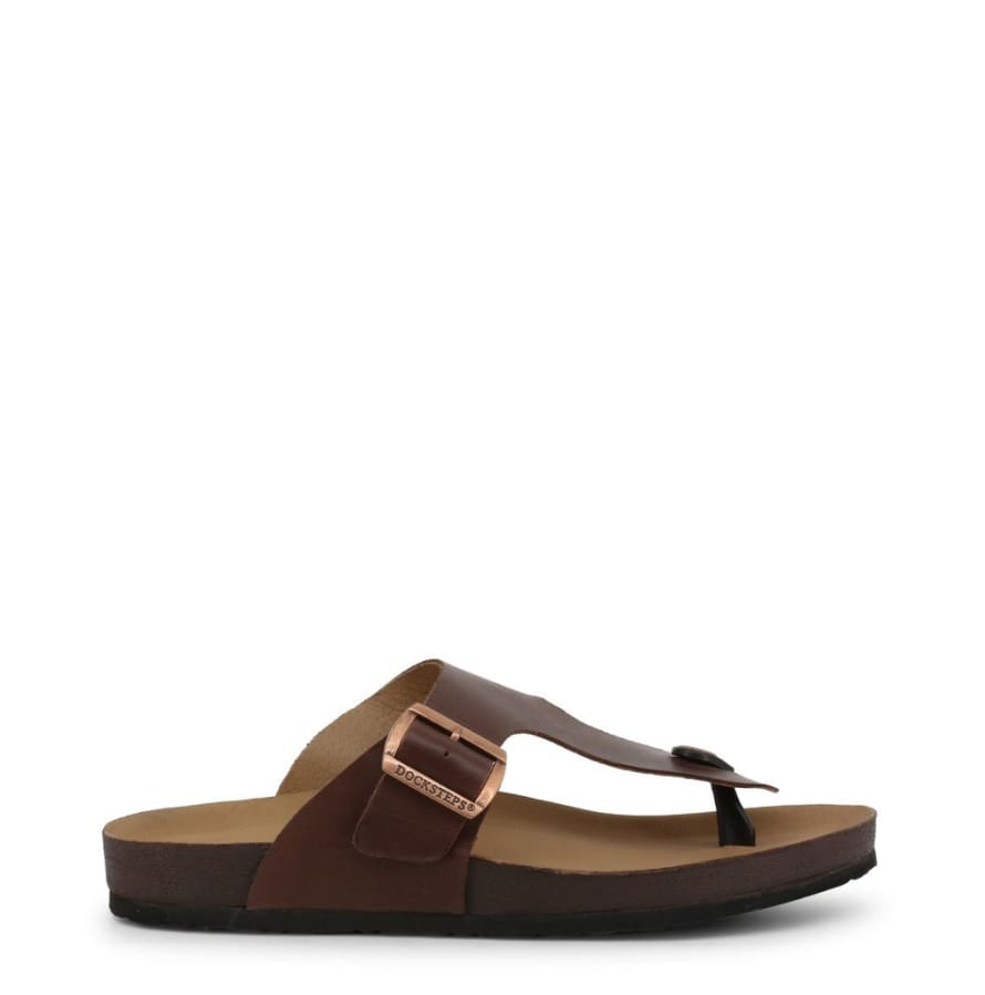 Docksteps - VEGA-2284 - brown / 40 - Shoes Flip Flops