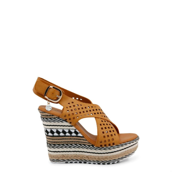 Enrico Coveri - C1012_CALF - brown / 38 - Shoes Wedges