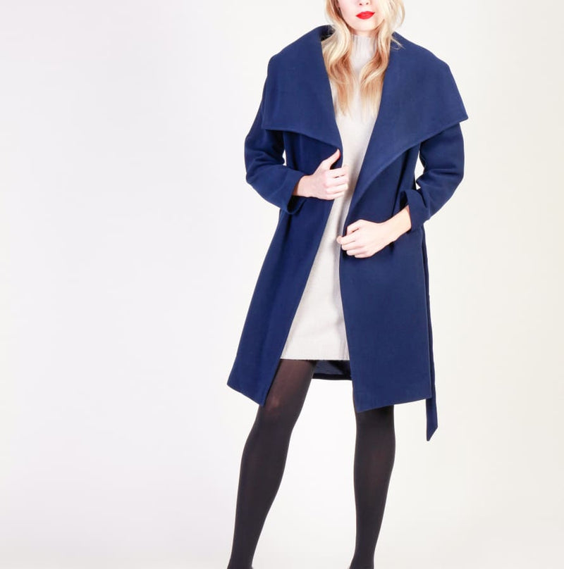 Fontana 2.0 - ADORATA - blue / 40 - Clothing Coats