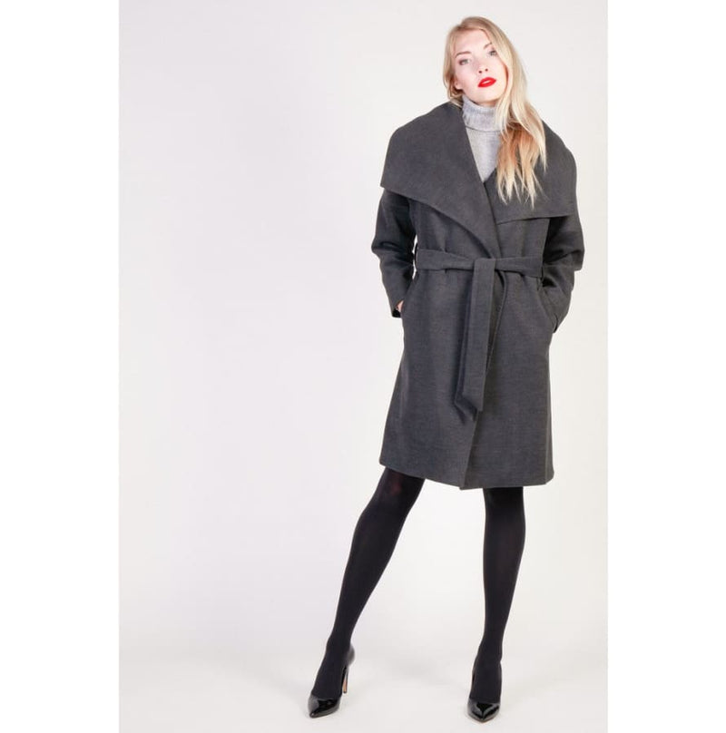 Fontana 2.0 - ADORATA - grey / 40 - Clothing Coats