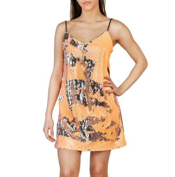 Imperial - AWF0VML - orange / XS - Clothing Dresses