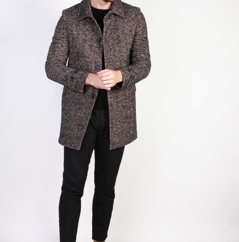 Made in Italia - ADOLFO - brown / 48 - Clothing Coats