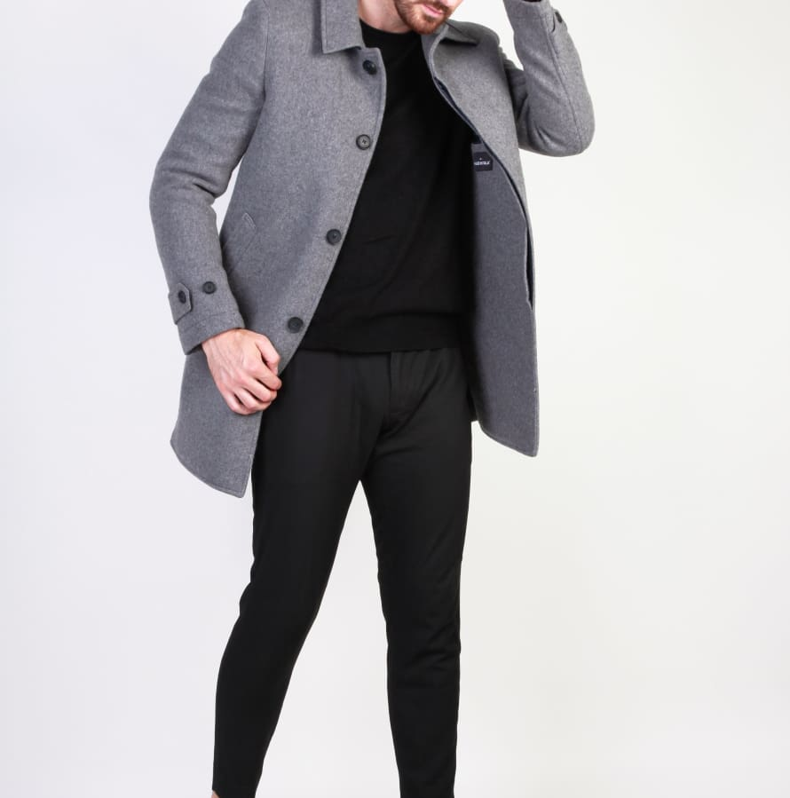 Made in Italia - ADOLFO - grey / 48 - Clothing Coats