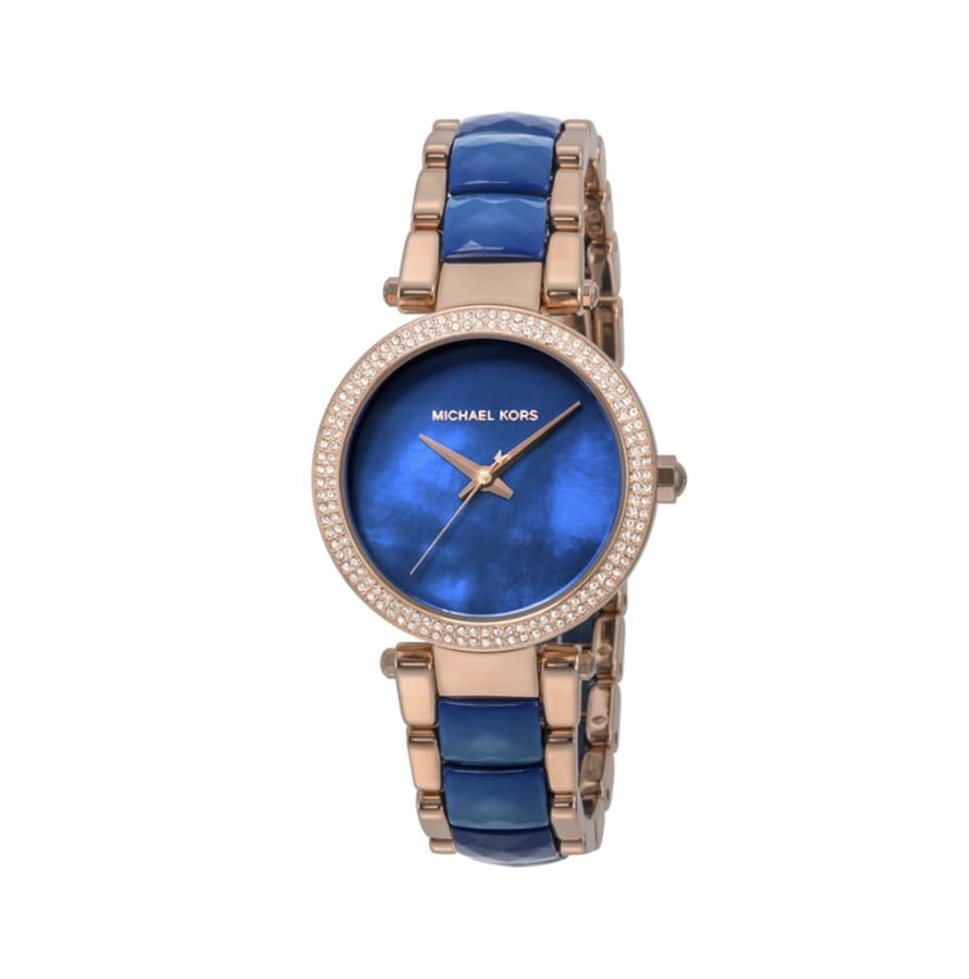 Michael Kors - MK6527 - blue / NOSIZE - Accessories Watches