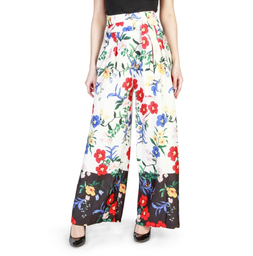 Miss Miss - 39478 - white / XS - Clothing Trousers