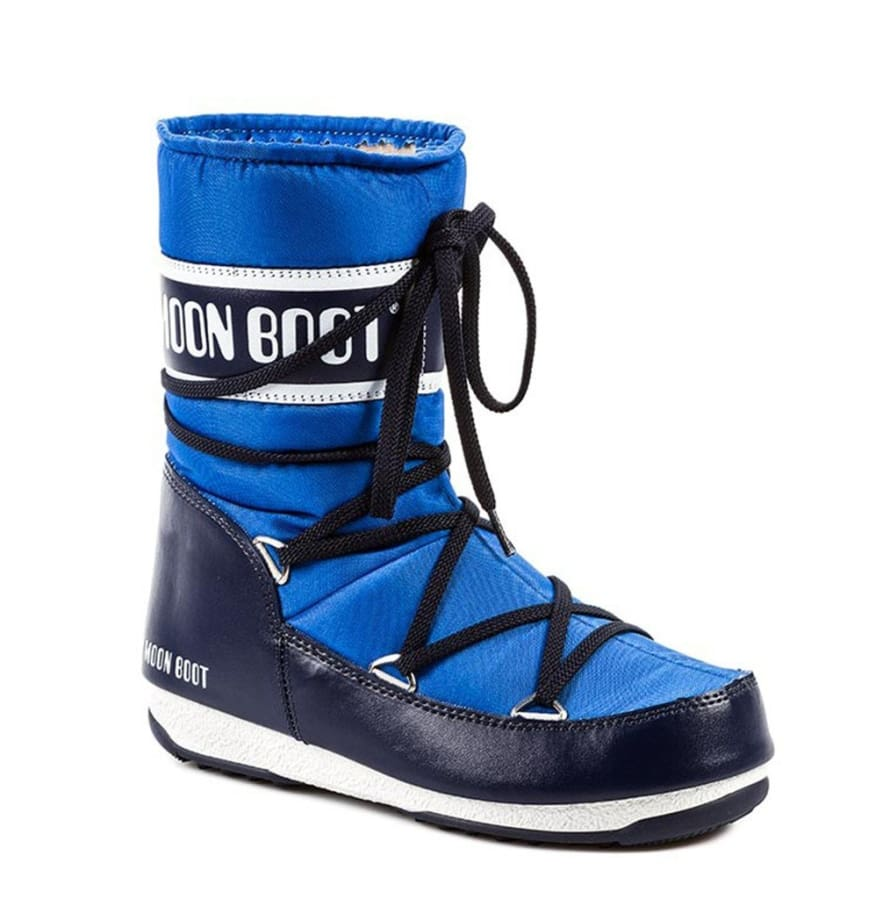 Moon Boot - 24003800 - blue / 36 - Shoes Boots